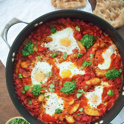 Indian Spiced Shakshuka