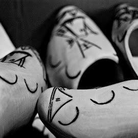 Wooden shoes by Prasanta Das - Artistic Objects Clothing & Accessories ( shoes, wooden, artistic )