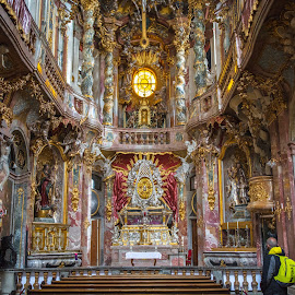 Asamkirche, Munich by Roberto Gonzalo - Buildings & Architecture Places of Worship ( munich, church, münchen, asamkirche,  )