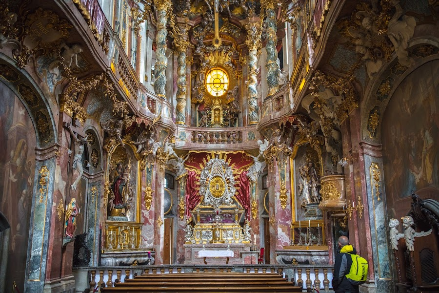 Asamkirche, Munich by Roberto Gonzalo - Buildings & Architecture Places of Worship ( munich, church, münchen, asamkirche,  )