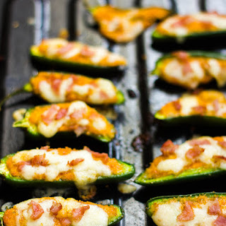 Baked Jalapeno Poppers with Cottage Cheese