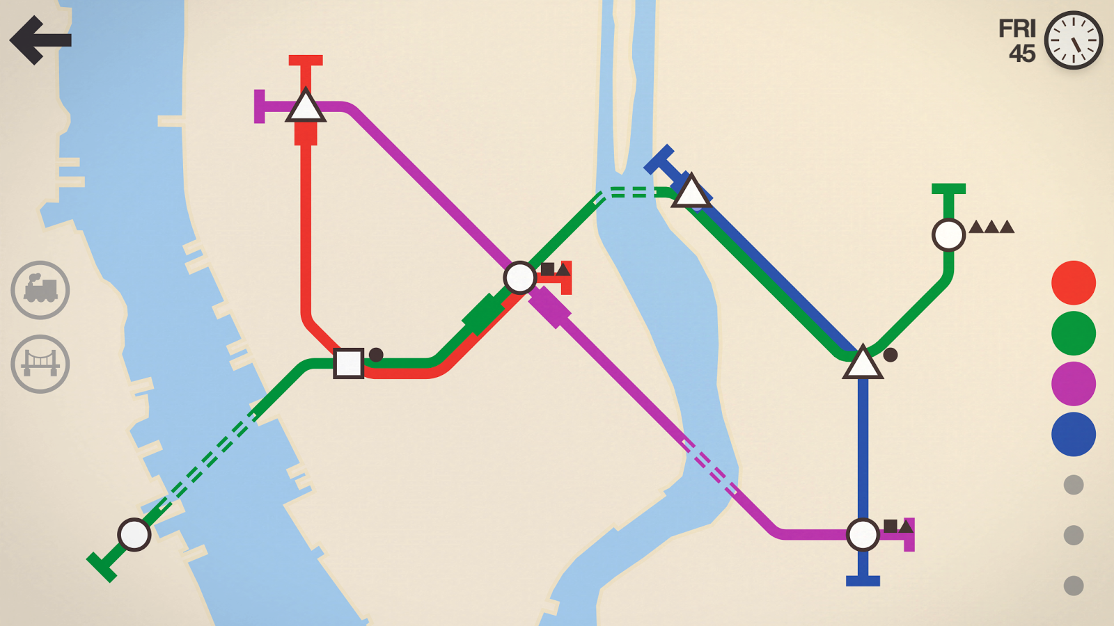 Mini Metro Screenshot 5