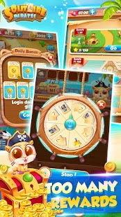 ♣Solitaire Pirate♣:Free Card Game