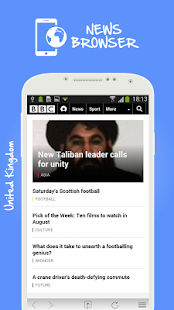 The News Browser, All UK News - screenshot