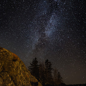 Milky Way by Larry Kaasa - Landscapes Starscapes ( sky, nature, stars, outdoors, night, landscape, milky way )