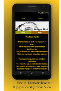 Josh Groban P. Effect & lyrics - screenshot