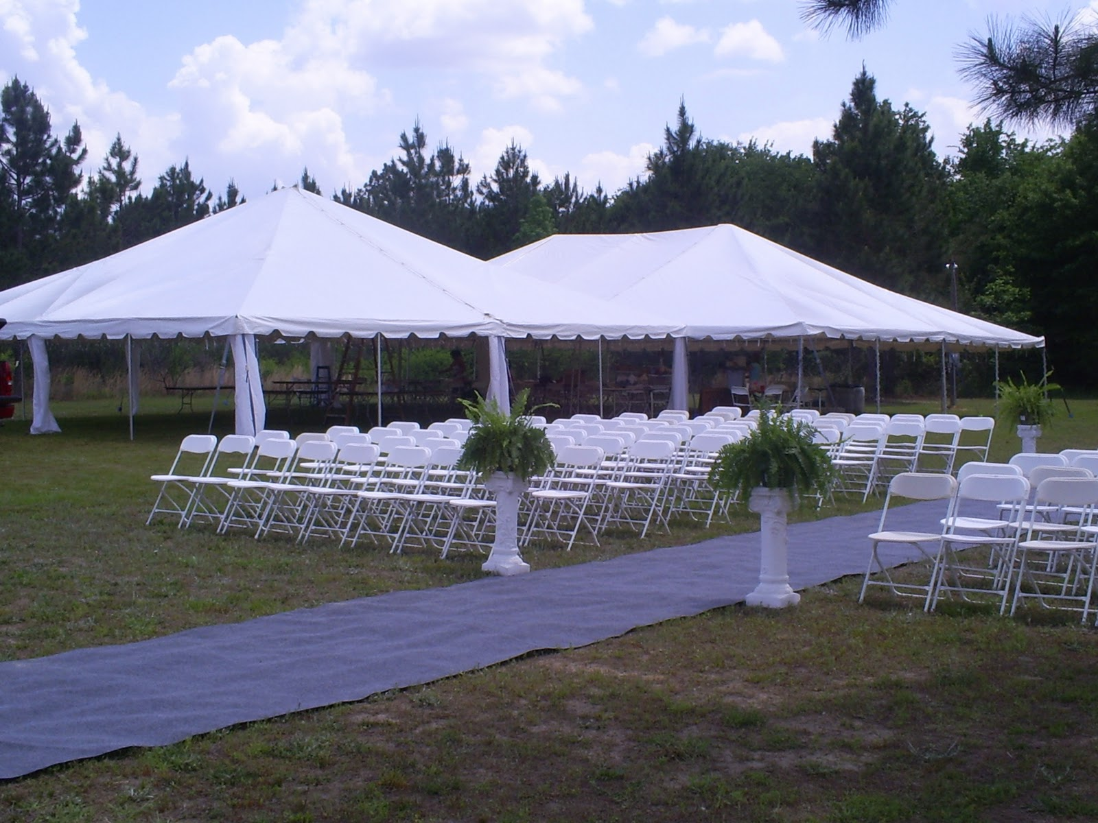 wedding tent, invitation