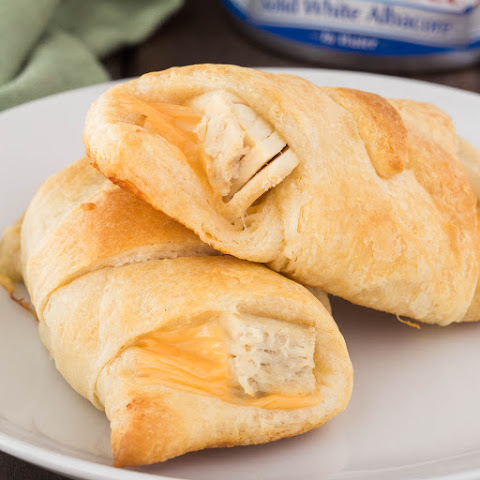 Easy Tuna Melt Crescent Rolls