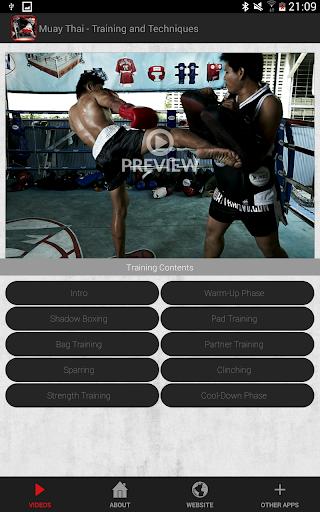 Muay Thai Training & Technique - screenshot