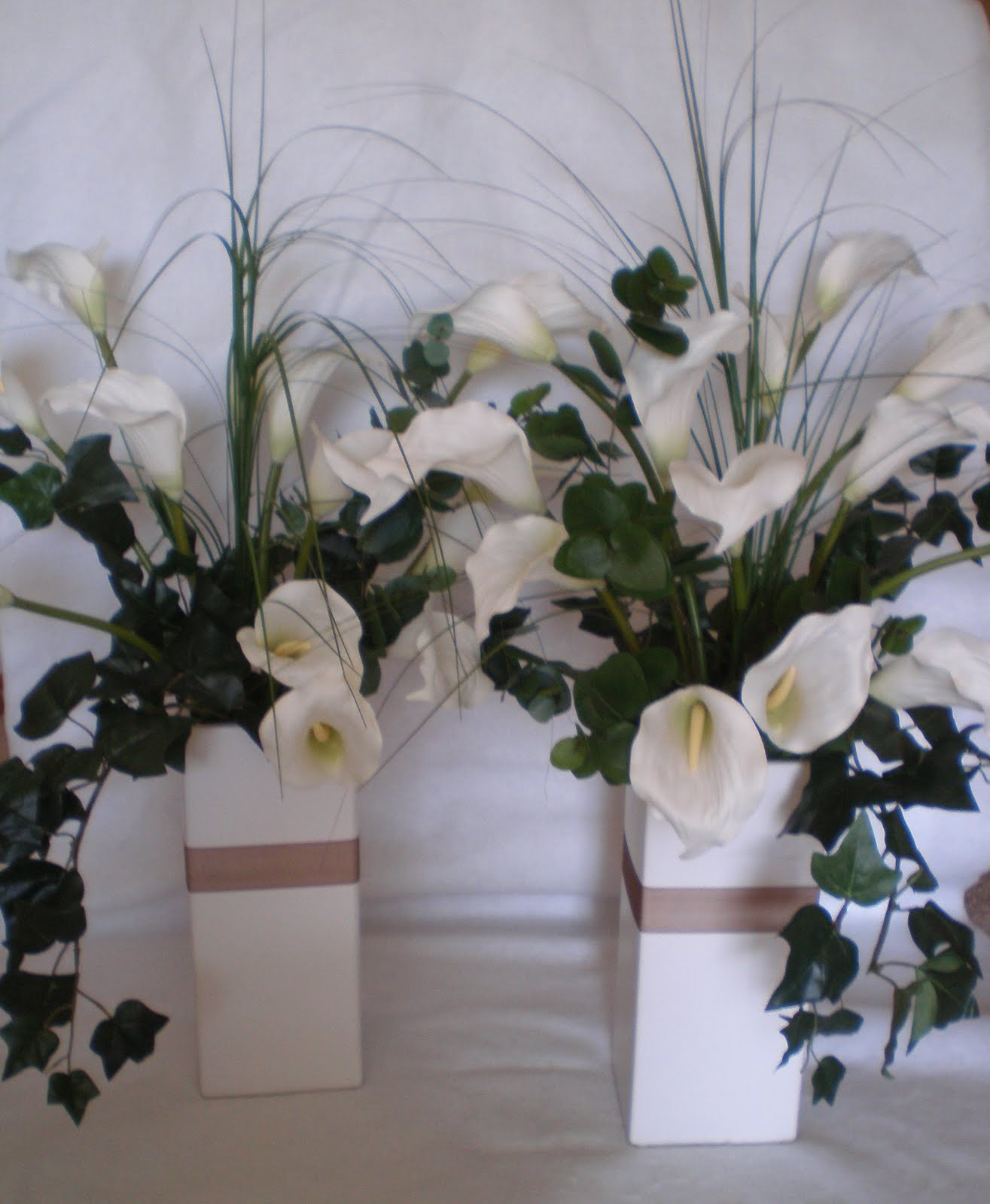 calla lily arrangement ideas