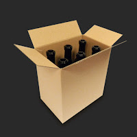 Přepravní krabice na láhve