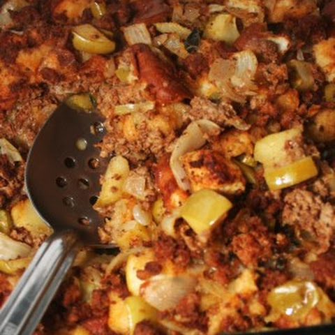 Low Sodium Chorizo and Green Apple Stuffing
