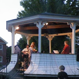 Concert in Hancock nh by Stephen Deckk - People Musicians & Entertainers