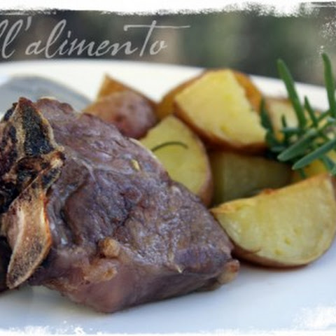 Lamb Chops & New Potatoes w/Rosemary & {a GIVEAWAY !}