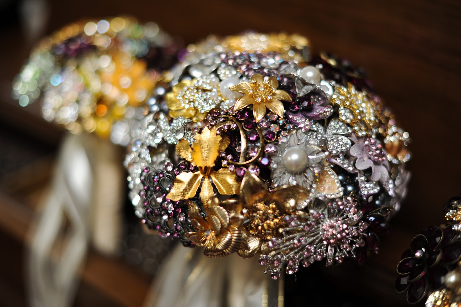 amazing brooch bouquets.