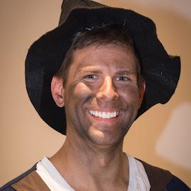 Dentist by Eva Ryan - People Portraits of Men ( victorian walk, male, dirty, teeth, guthrie_ok, shadows, man, hat,  )