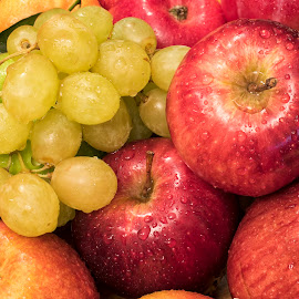 Fruit Jumble by Paul Putman - Food & Drink Fruits & Vegetables ( fruit, paul putman, cplour, jumble, stacking )
