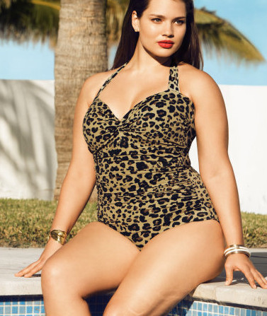 H&amp;M Swimwear Mujer &#8216;big is beautiful&#8217;, verano 2011