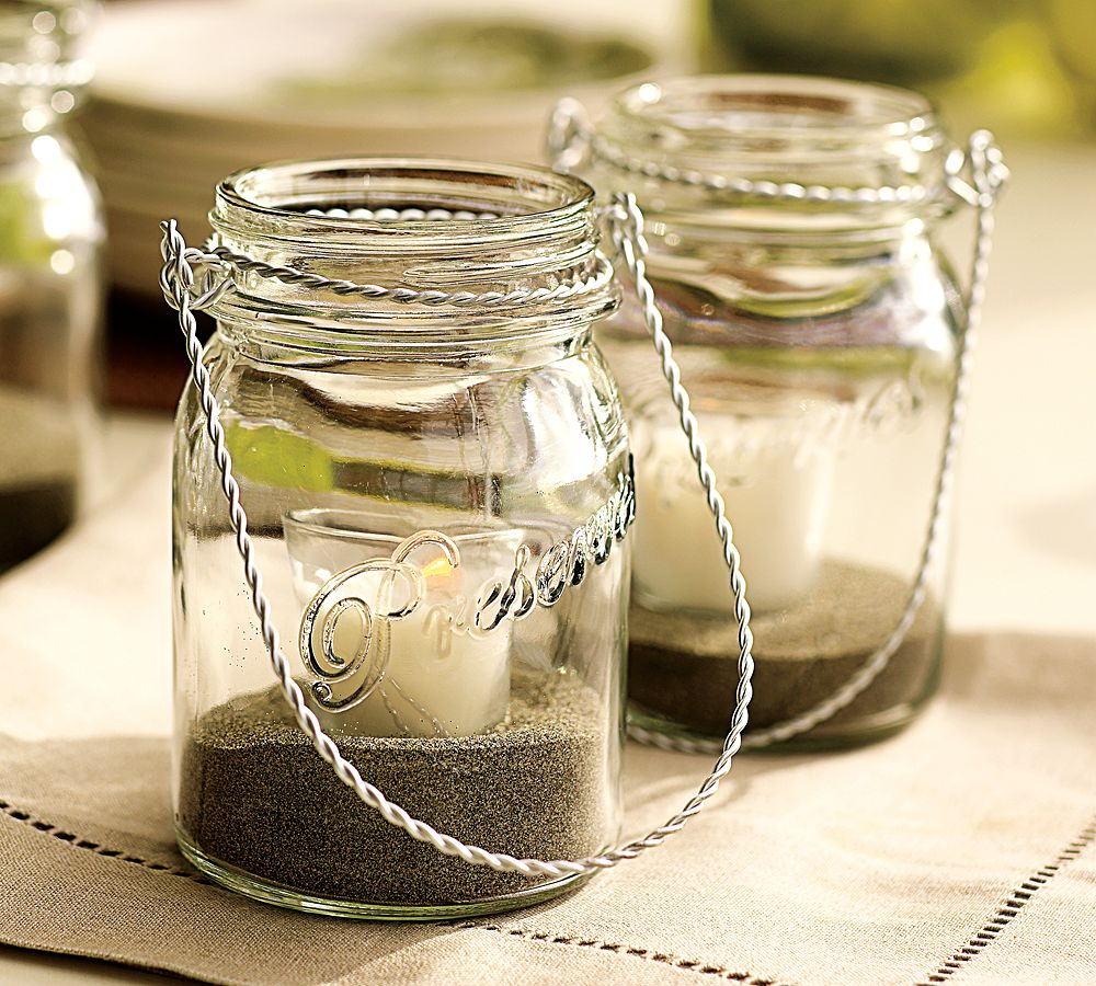 Unique Wedding Centerpieces Mason Jars Component - The Wedding Ideas ...