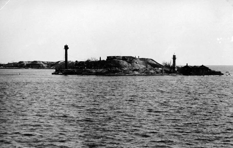 остров Первомайский. 1941 г.