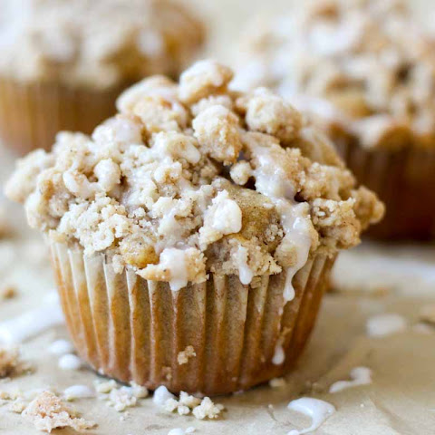 Coffee Cake Crumble Muffins