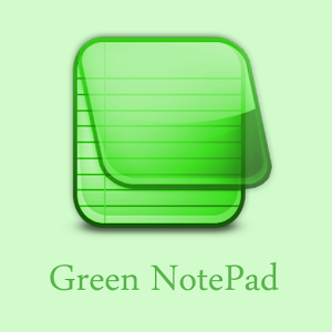 Green Notepad for Android