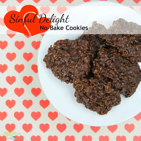 Sinful Delight No-Bake Cookies