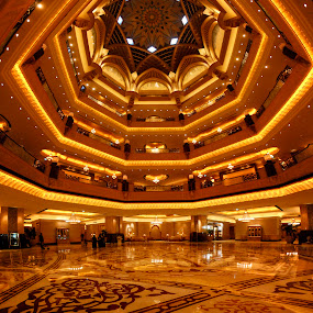 Emirates Palace by João Ferreira - Buildings & Architecture Office Buildings & Hotels ( emirates palace abu dhabi )