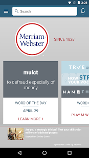 Dictionary - Merriam-Webster- screenshot thumbnail