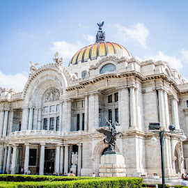 Palacio de Bellas Artes by Dale Youngkin - Buildings & Architecture Public & Historical ( palacio de bellas artes, mexico city, mexico, art, museum, architecture )