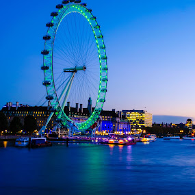 London eye  by Mohammed Hashmi - City,  Street & Park  Neighborhoods
