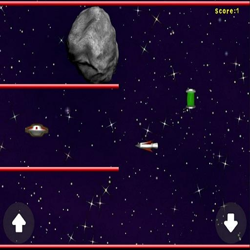 UFO-Asteroid-Run 14