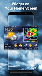 Local Weather Forecast & Real-time Radar screenshot for Android