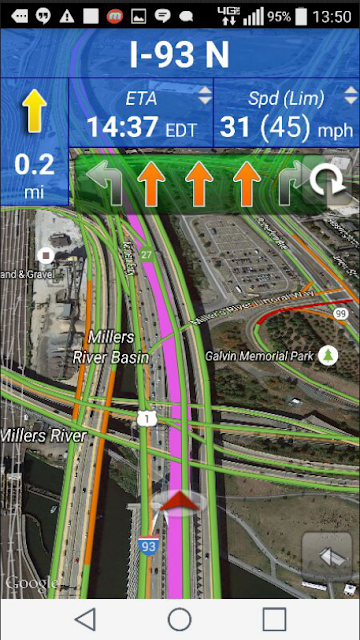 Truck GPS Route Navigation screenshots