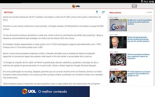 UOL | Notícias em Tempo Real APK for iPhone