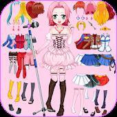 Cosplay Girls, Dress Up Game