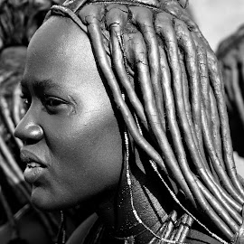 Himba. by Lorraine Bettex - Black & White Portraits & People