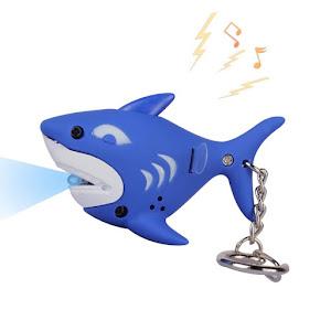 "Брелок LED со звуком ""Дельфинчик"""