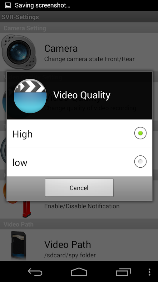 Secret Video Recorder Pro Screenshot 5