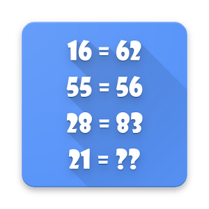 New Math Puzzles  for Geniuses... app for android