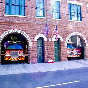 Charleston 9 by Hugh McLaren - Buildings & Architecture Public & Historical (  )