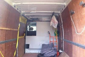 Yellow Van interior