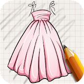Draw Dresses for Girls APK for Ubuntu