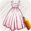 Download Android Game Draw Dresses for Girls for Samsung