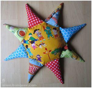 Cojin en forma de Estrella