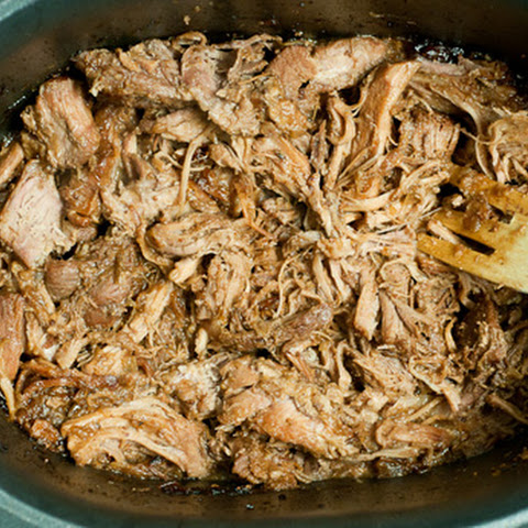 Cranberry Mustard Pulled Pork