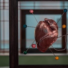 *** by Таня Гюлтекин - Digital Art Things ( love, girl, heart, surreal, natural )