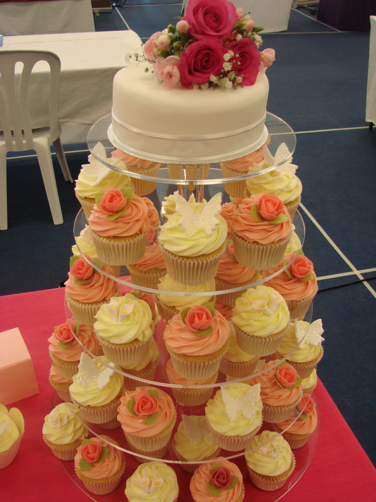 Please do give us a call or email if we can help with your wedding cupcakes.