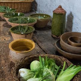 vegetables in a basket by Vibeke Friis - Food & Drink Fruits & Vegetables ( vegetables in baskets )