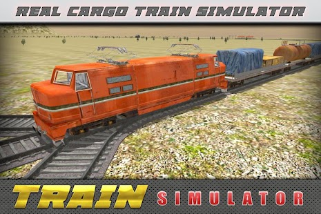 Cargo Transporter Train Sim 3D - screenshot